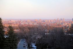 The View from Murray Hill Park