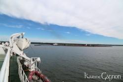 PEI seen from the ferry to Nova Scotia