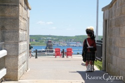 Halifax Harbor seen from the citadelle