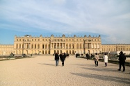The rear façade of Versailles