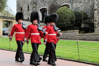 The Queen's Guard at Windsor