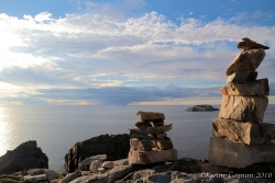 The view from the cliffs of Bonavista