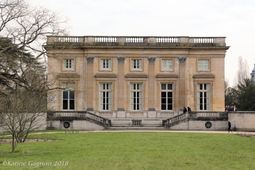 Rear façade of the Petit Trianon