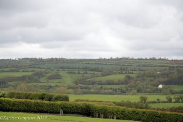 A view of the fields surrounding Newgrange